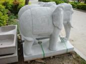石雕獅子 大象